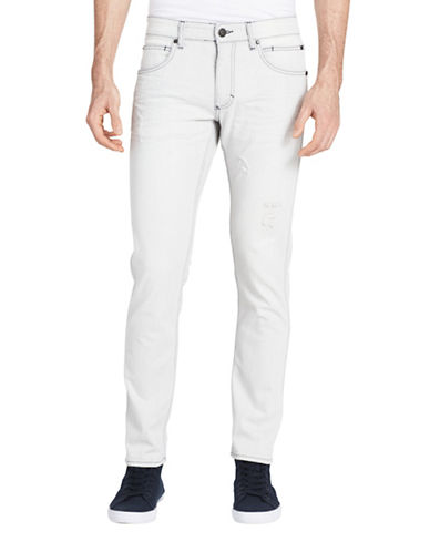 Calvin Klein Jeans Slim Fit Jeans-STONE-38