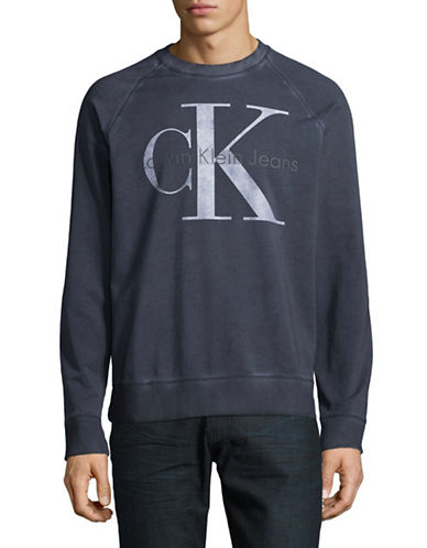Calvin Klein Jeans Washed Re-Issue Sweater-BLUE-Small 89299990_BLUE_Small