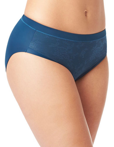 Olga Light Shaping Hi-Cut Briefs-INKY BLUE-7
