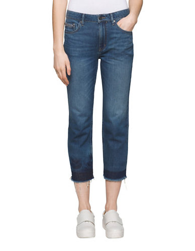Calvin Klein Jeans Whisper Weight Skinny Ankle Jeans-DEEP SEA-30