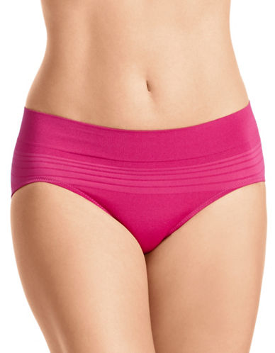WarnerS Microfibre Hipster Briefs-VERY BERRY-Medium