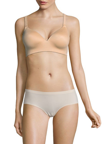 Calvin Klein Lightly Lined Convertible Bra-BEIGE-Medium