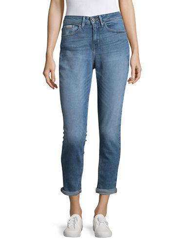 Calvin Klein Jeans Mom Jeans-DEEP BLUE-27