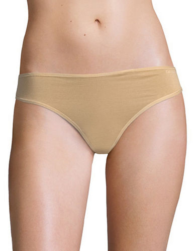 Calvin Klein Form Thong-BARE-Medium