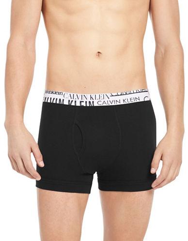 Calvin Klein Classic Boxer Briefs-BLACK-Large