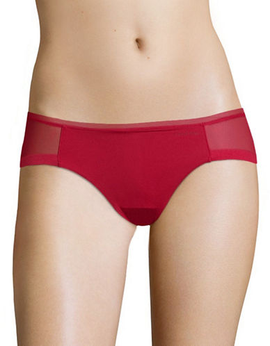 Calvin Klein Sculpted Bikini Briefs-RED-Medium