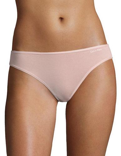 Calvin Klein Form Bikini Bottom-PINK-Medium