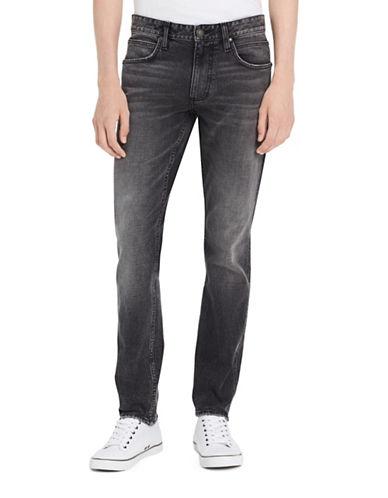 Calvin Klein Jeans Slim Straight Jeans-GREY-36