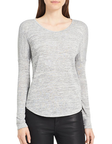 Calvin Klein Jeans Scoop-Neck Sweater-CASCADE-Medium