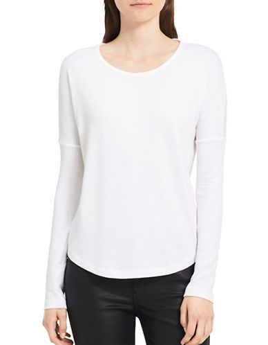 Calvin Klein Jeans Scoop-Neck Sweater-MARSHMALLO-X-Small