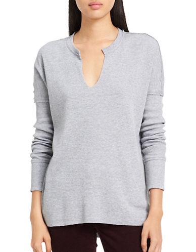Calvin Klein Jeans Comfy Knit Sweater-GREY-Large