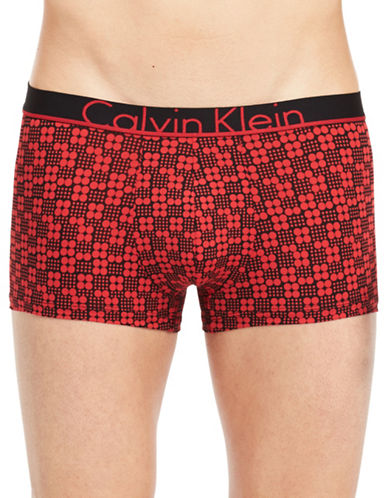 Calvin Klein ID Low Rise Trunks-PINK-Small