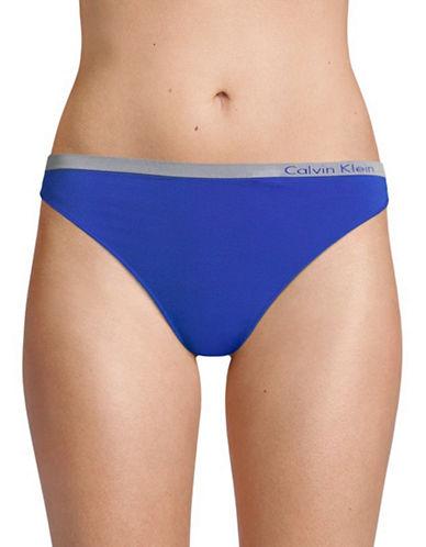 Calvin Klein Seamless Thong-STREAK-Large