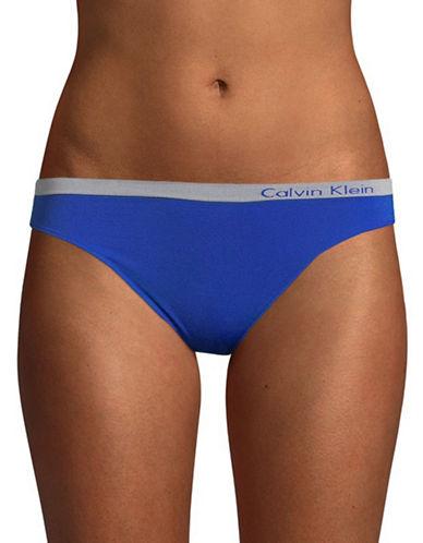 Calvin Klein Seamless Bikini-Fit Briefs-STREAK-Small