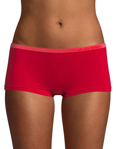 Calvin Klein Pure Seamless Boyshort Briefs-EMPOWER-Large