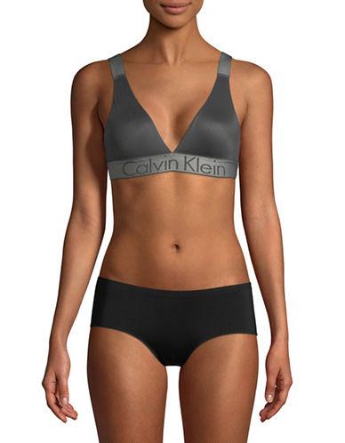 Calvin Klein Stretch Intuition Bralette-DARK GREY-Medium