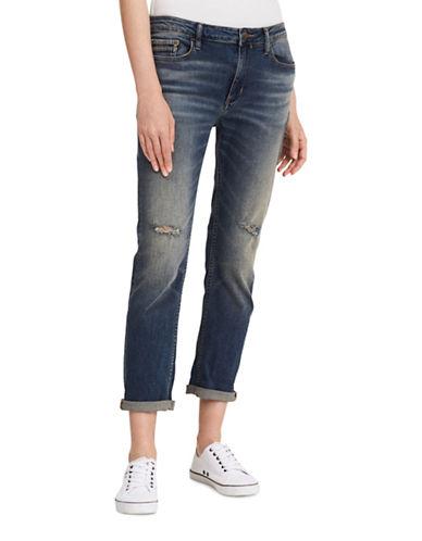 Calvin Klein Jeans Slim Boyfriend Jeans-GREEN-28