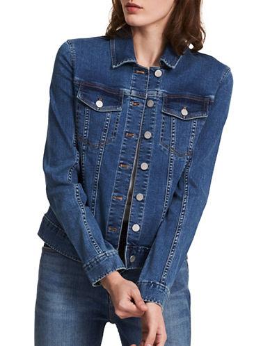 Calvin Klein Jeans Core Trucker Denim Jacket-MOONLIGHT-Small