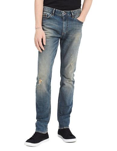 Calvin Klein Jeans Slim Destructed Jeans-BLUE-32X32