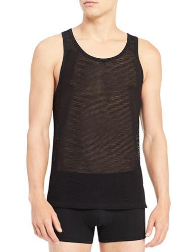 Calvin Klein Mesh Tank Top-BLACK-Large 90059036_BLACK_Large