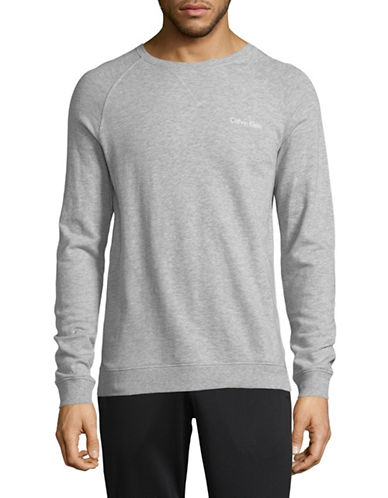Calvin Klein Heritage Body Cotton Sweatshirt-GREY-Medium 89938308_GREY_Medium