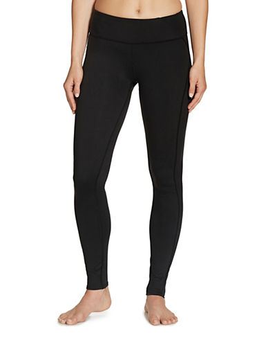 Gaiam Luxe Yoga Leggings-BLACK-Small 88712843_BLACK_Small