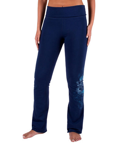 Gaiam Nova Bootcut Pants-BLUE-X-Large