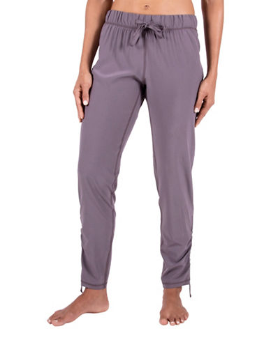 Gaiam Lola Solid Harem Pants-GREY-Medium 88712904_GREY_Medium
