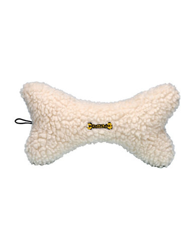 Penn Plax Comfy Bone Pet Toy-WHITE-One Size