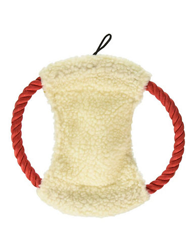 Penn Plax Comfy Rope Disc Toy-WHITE-One Size
