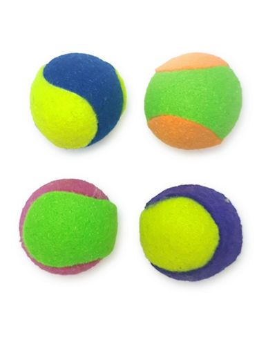 Penn Plax 42-Piece Tennis Balls-ASSORTED-One Size
