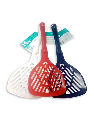 Penn Plax 12-Piece Litter Scoops Set-ASSORTED-One Size