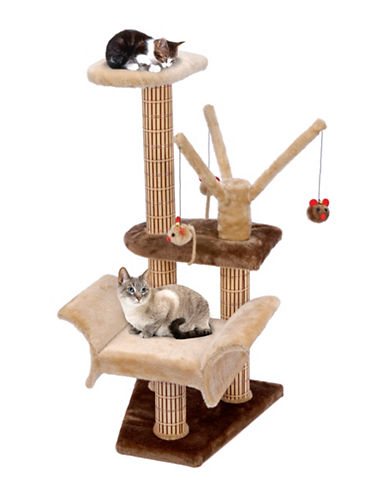 Penn Plax Cat Scratcher Lounger-BEIGE-One Size