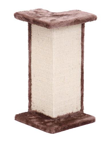 Penn Plax Corner Wall Cat Scratcher Furniture-BEIGE-One Size