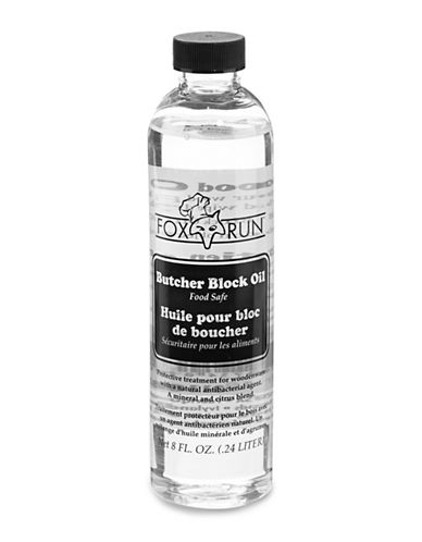 Fox Run Butcher Block Oil-CLEAR-One Size