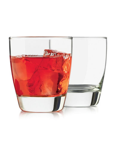 Libbey Four Piece Classic Short Glass Set-CLEAR-One Size