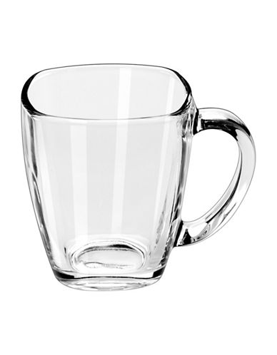 Libbey Tempo Square Mug-CLEAR-One Size