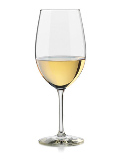 Libbey Vineyard Reserve Set of Four Chardonnay Wine Glasses-CLEAR-One Size