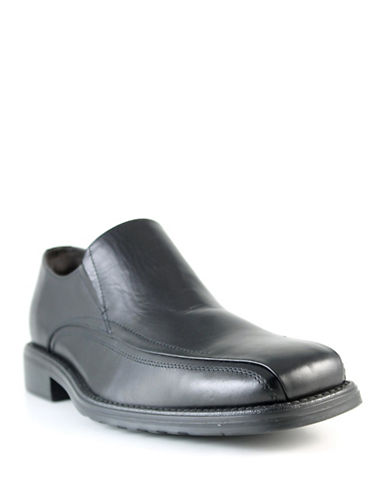 Dockers Conclave Leather Dress Shoes-BLACK-12W
