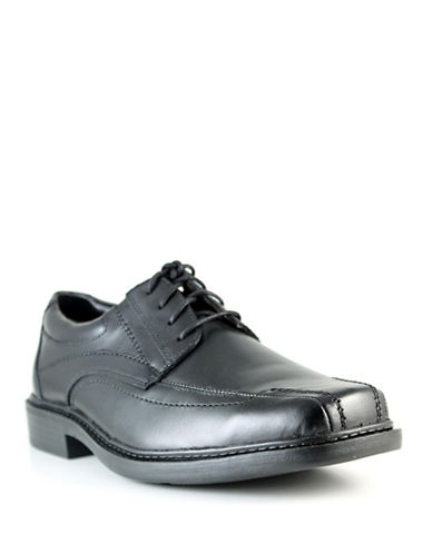 Dockers Archive Leather Dress Shoes-BLACK-11W