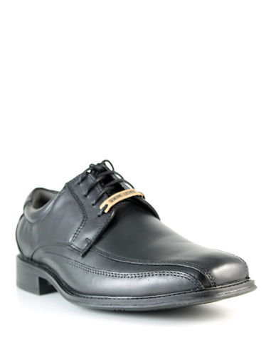 Dockers Endow Leather Dress Shoes-BLACK-8.5
