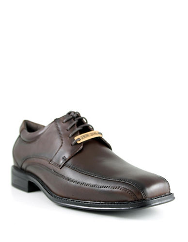 Dockers Endow Leather Dress Shoes-BROWN-10.5W