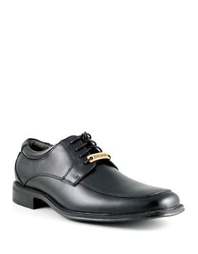 Dockers Amherst Leather Dress Shoe-BLACK-10W