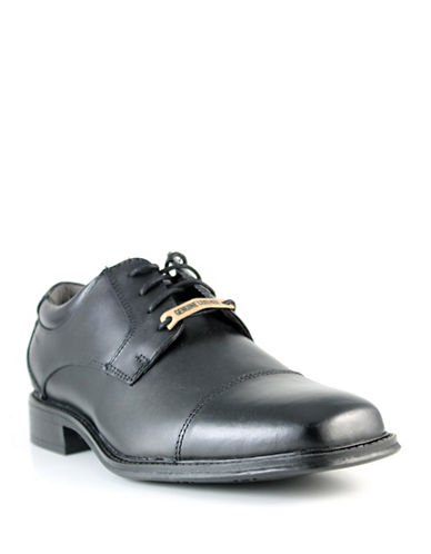 Dockers Drummond Leather Dress Shoes-BLACK-9.5W