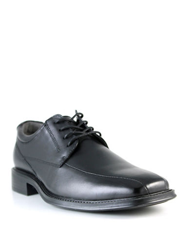 Dockers Orso Leather Dress Shoes-BLACK-9W