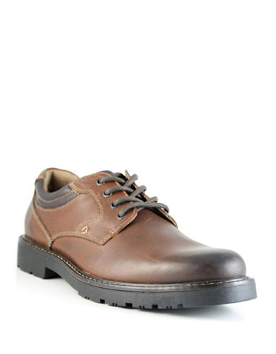 Dockers Barlow Lace-Up Shoes-BROWN-9