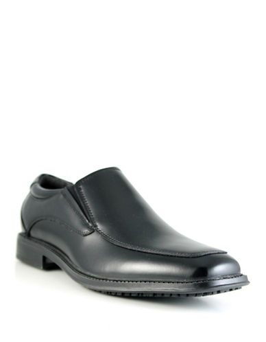 Dockers Geary Leather Dress Shoes-BLACK-9