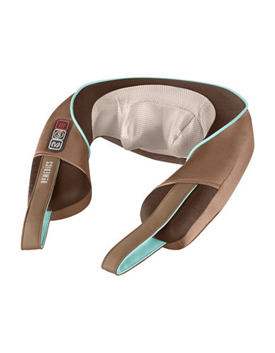 Homedics Shiatsu Plus Neck and Shoulder Heat Massager-BEIGE-One Size 87634323_BEIGE_One Size