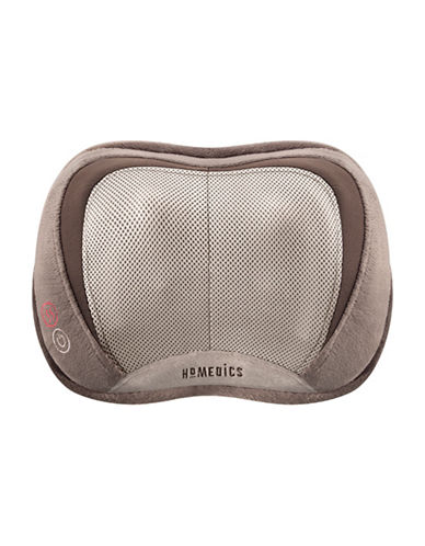 Homedics 3D Shiatsu Pillow-BROWN-One Size
