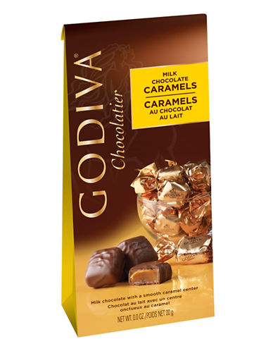 Godiva Milk Chocolate Caramels-CHOCOLATE-One Size